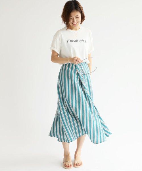 IENA(イエナ)/《追加2》ロゴプリントTシャツ◆/19070900010210_img42