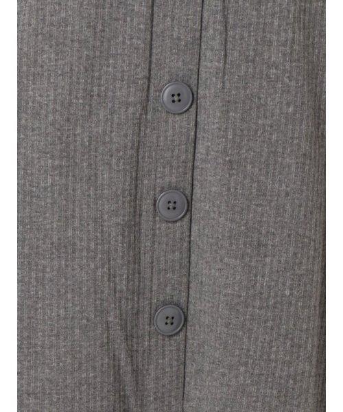 dazzlin(ダズリン)/フロントボタンテレコロングタイトスカート/021930801601_img24