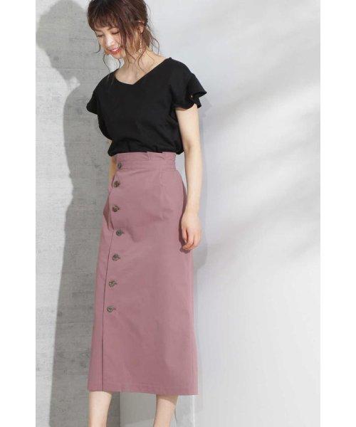 PROPORTION BODY DRESSING(プロポーション ボディドレッシング)/《EDIT COLOGNE》フロントボタンロングタイトスカート/1219127502_img11