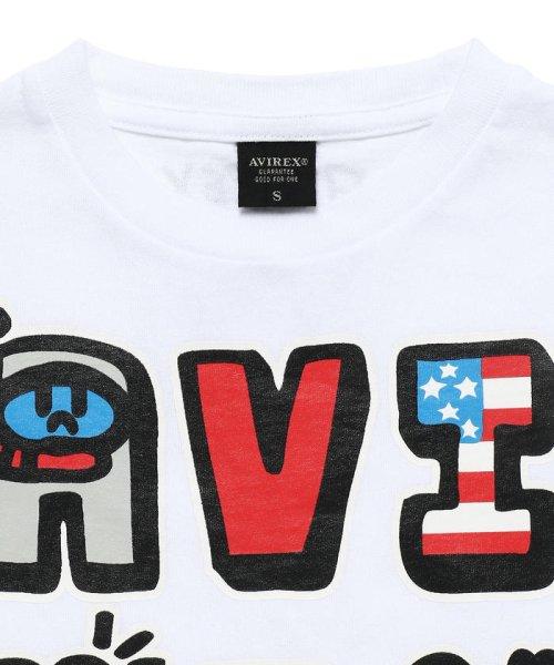 df9c47105a772 AVIREX(アヴィレックス)/KIDS/ロゴTシャツ/BOXER JUNTARO/ボクサージュン