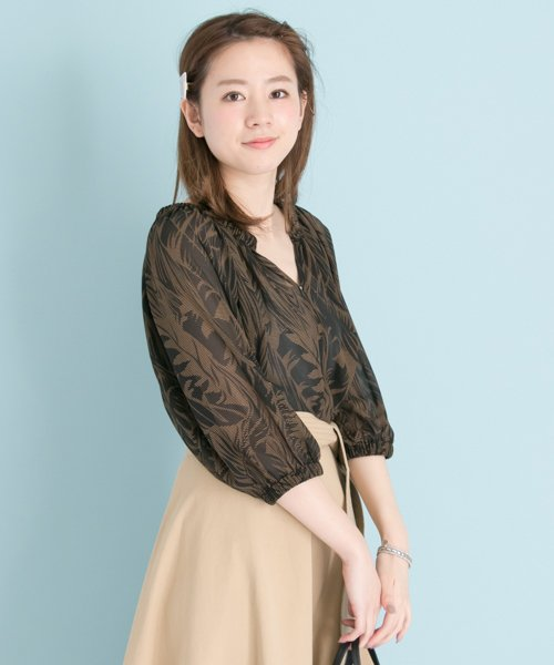 URBAN RESEARCH OUTLET(アーバンリサーチ アウトレット)/【UR】リーフプリントBL/UR7523O009_img01