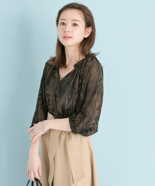 URBAN RESEARCH OUTLET(アーバンリサーチ アウトレット)/【UR】リーフプリントBL/UR7523O009_img02