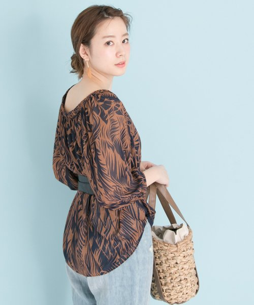 URBAN RESEARCH OUTLET(アーバンリサーチ アウトレット)/【UR】リーフプリントBL/UR7523O009_img06