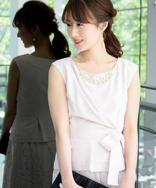 Eimy Peral(エイミーパール(ドレス))/トップス+スカートセットアップドレス/BO319_img02