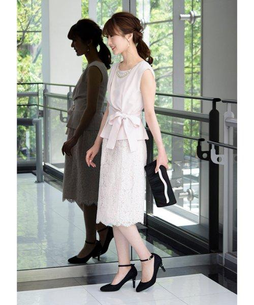 Eimy Peral(エイミーパール(ドレス))/トップス+スカートセットアップドレス/BO319_img05