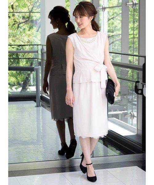 Eimy Peral(エイミーパール(ドレス))/トップス+スカートセットアップドレス/BO319_img11