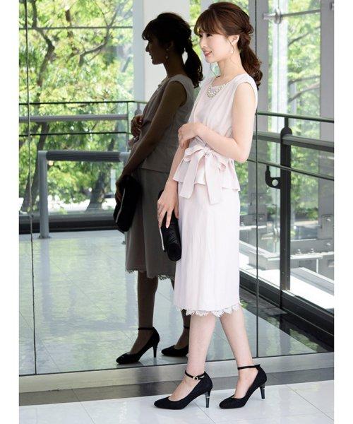Eimy Peral(エイミーパール(ドレス))/トップス+スカートセットアップドレス/BO319_img13