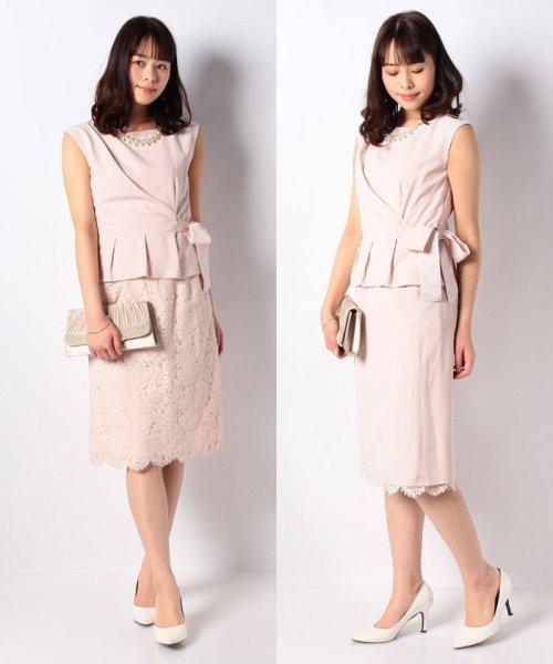 Eimy Peral(エイミーパール(ドレス))/トップス+スカートセットアップドレス/BO319_img27