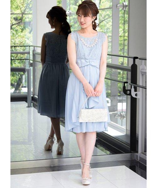 Eimy Peral(エイミーパール(ドレス))/パールネックレス付きドレス/24449_img02