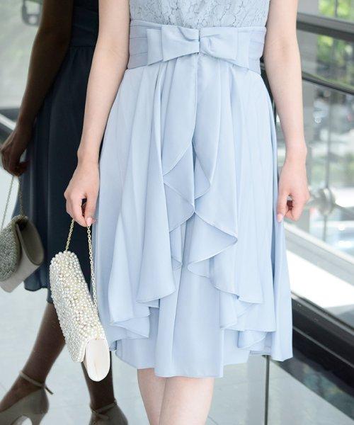 Eimy Peral(エイミーパール(ドレス))/パールネックレス付きドレス/24449_img03