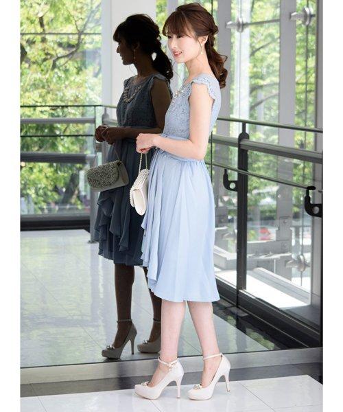 Eimy Peral(エイミーパール(ドレス))/パールネックレス付きドレス/24449_img04