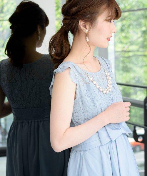 Eimy Peral(エイミーパール(ドレス))/パールネックレス付きドレス/24449_img05