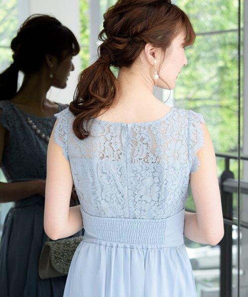 Eimy Peral(エイミーパール(ドレス))/パールネックレス付きドレス/24449_img07