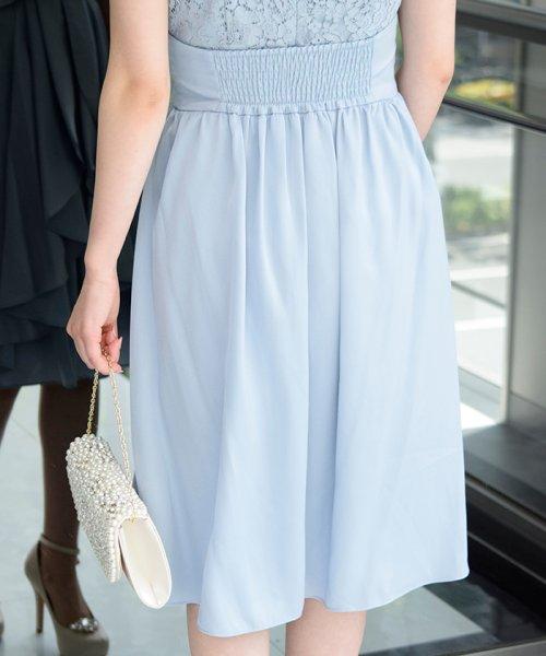 Eimy Peral(エイミーパール(ドレス))/パールネックレス付きドレス/24449_img08