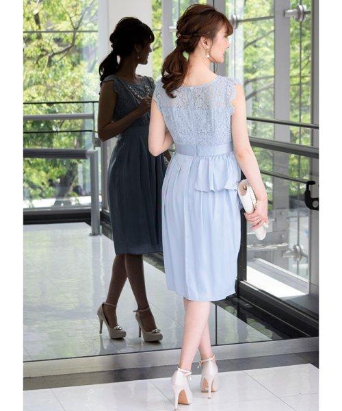 Eimy Peral(エイミーパール(ドレス))/パールネックレス付きドレス/24449_img12