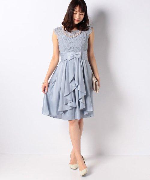 Eimy Peral(エイミーパール(ドレス))/パールネックレス付きドレス/24449_img20
