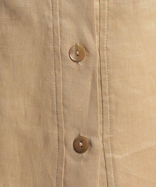 NARA CAMICIE(ナラカミーチェ)/フラワー刺繍ノーカラー七分袖ブラウス/109102268_img08