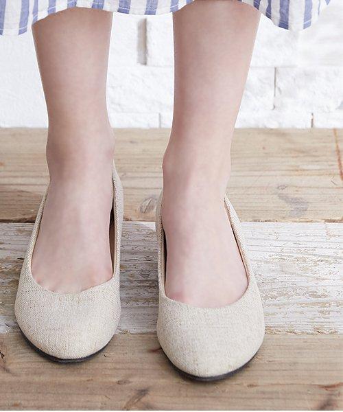 ALETTA(ALETTA)/やっと出会えた究極のプレーンローヒールパンプス【3.5cmヒール/ラウンドトゥ】 外反母趾ぎみ甲高幅広対応 立仕事 靴  痛くないパンプス 小さい 大きいサイズ/274002731b_img18