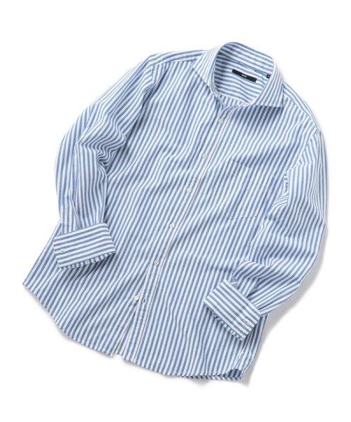 SHIPS MEN(シップス メン)/SC: レノクロス ストライプ セミワイドカラーシャツ/111100304_img10