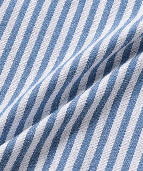 SHIPS MEN(シップス メン)/SC: レノクロス ストライプ セミワイドカラーシャツ/111100304_img11
