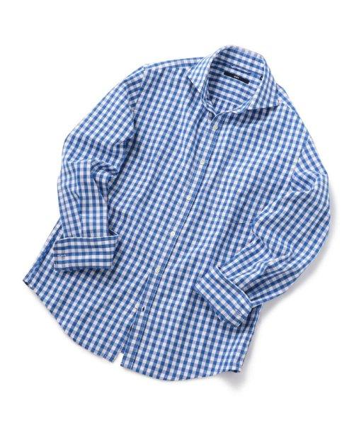 SHIPS MEN(シップス メン)/SC: レノクロス ストライプ セミワイドカラーシャツ/111100304_img12