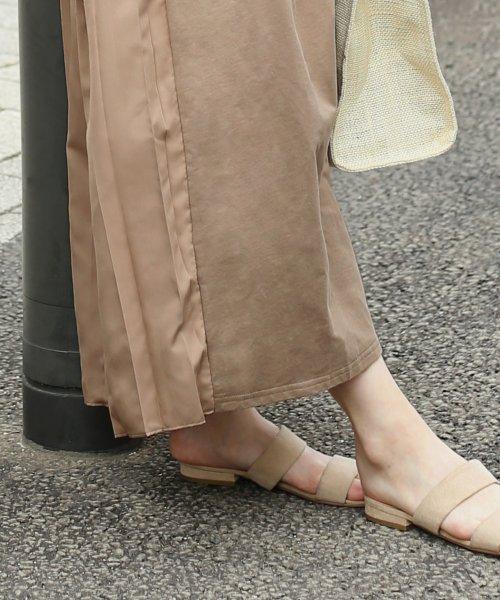 Bou Jeloud(ブージュルード)/バックスタイルが可愛い!◆スウェット後ろプリーツ半袖ワンピース/692996_img20