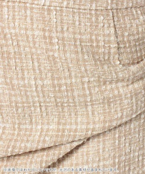 INTERPLANET(インタープラネット)/ロイヤルラメツイードタイトスカート/20126006_img06
