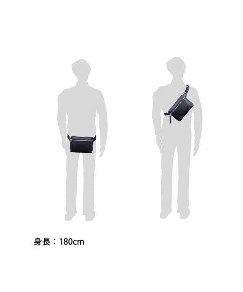 ST.UNIVERSEL(セントユニバーセル)/ボディバッグ メンズ 斜めがけ セントユニバーセル ST.UNIVERSEL SAFFIANO BODY BAG サフィアーノ 本革 STU-SF300/STU-SF300_img11