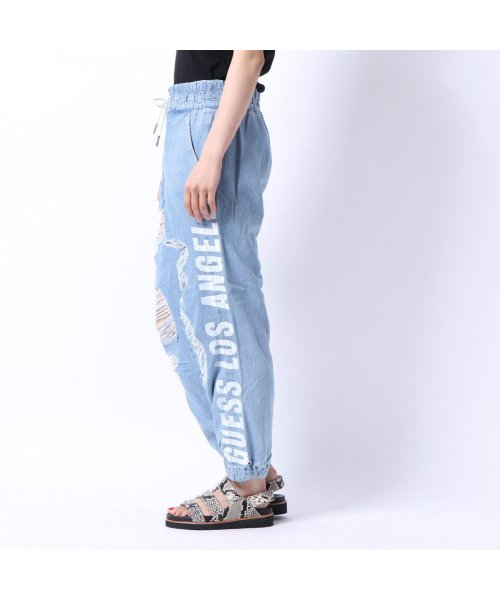 GUESS(ゲス)/ゲス GUESS TEARS RELAXED JOGGER PANT (NEVIS)/GU1432EW14958_img01