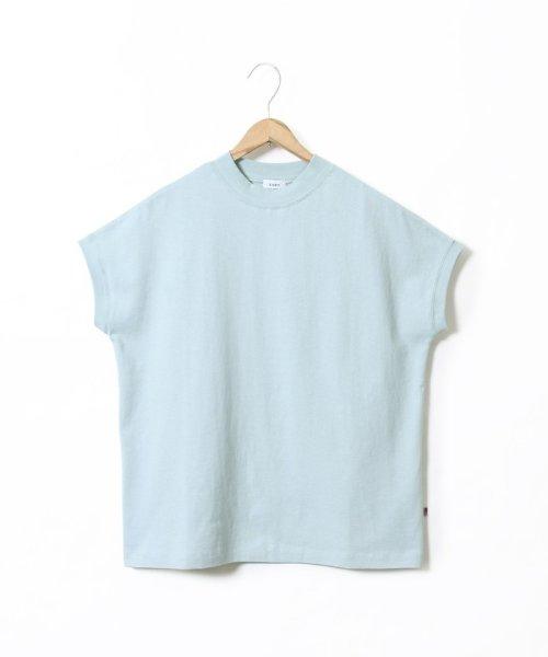 coen(コーエン)/【WEB限定カラーに新色ブラウン登場】USAコットンハイネックTシャツ/76256009019_img38