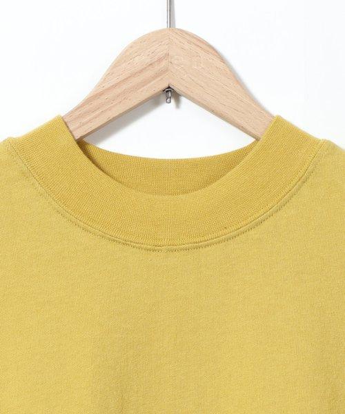 coen(コーエン)/【WEB限定カラーに新色ブラウン登場】USAコットンハイネックTシャツ/76256009019_img43