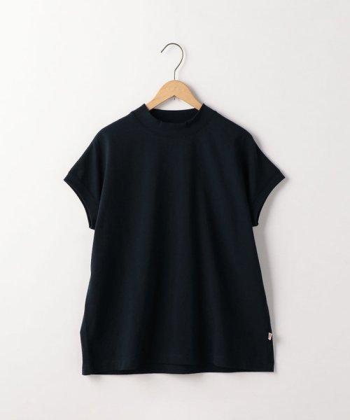 coen(コーエン)/【WEB限定カラーに新色ブラウン登場】USAコットンハイネックTシャツ/76256009019_img46