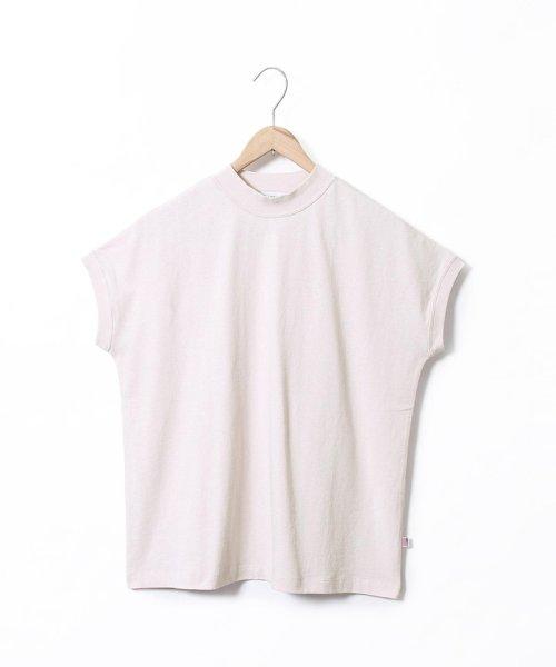 coen(コーエン)/【WEB限定カラーに新色ブラウン登場】USAコットンハイネックTシャツ/76256009019_img47