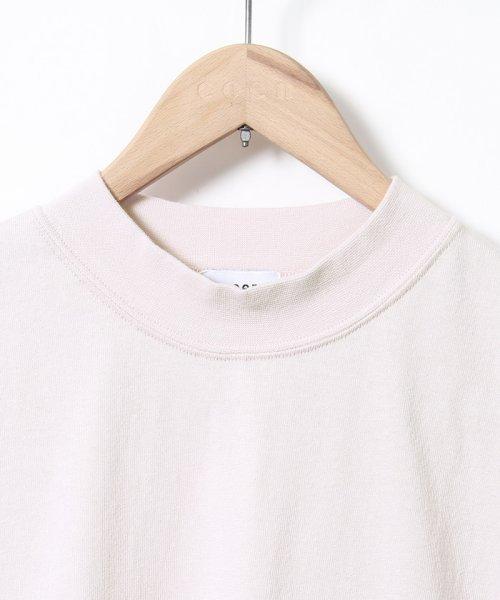 coen(コーエン)/【WEB限定カラーに新色ブラウン登場】USAコットンハイネックTシャツ/76256009019_img48