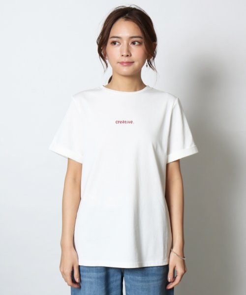 SCOTCLUB(スコットクラブ)/Vin(ヴァン) プチロゴ半袖Tシャツ/081253976_img03