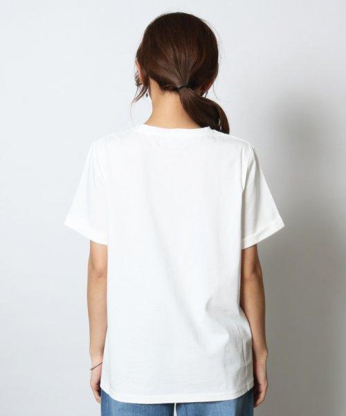 SCOTCLUB(スコットクラブ)/Vin(ヴァン) プチロゴ半袖Tシャツ/081253976_img05