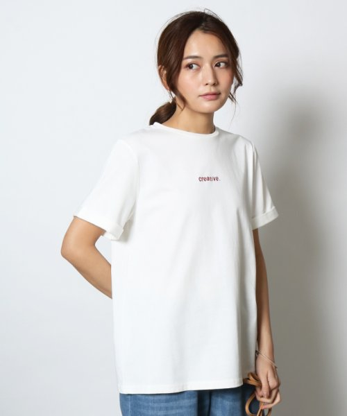 SCOTCLUB(スコットクラブ)/Vin(ヴァン) プチロゴ半袖Tシャツ/081253976_img14