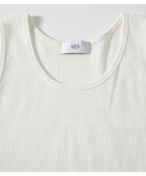 AZUL by moussy(アズールバイマウジー)/WAFFLE LACTIC ACID TANK TOP/251CSM80-318E_img03