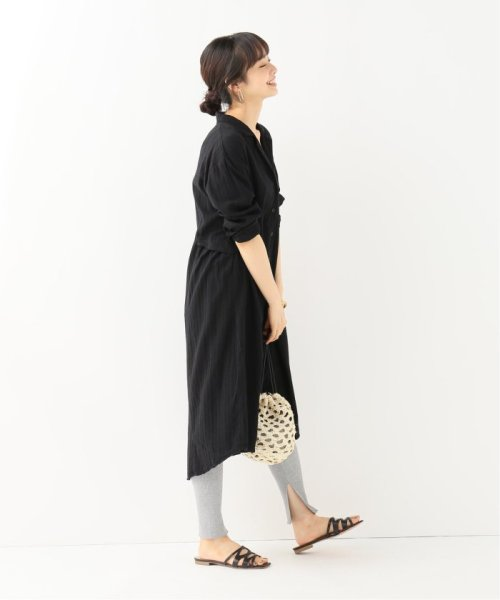 IENA(イエナ)/LACAUSA MAIN DOE シャツドレス/19040910011810_img02