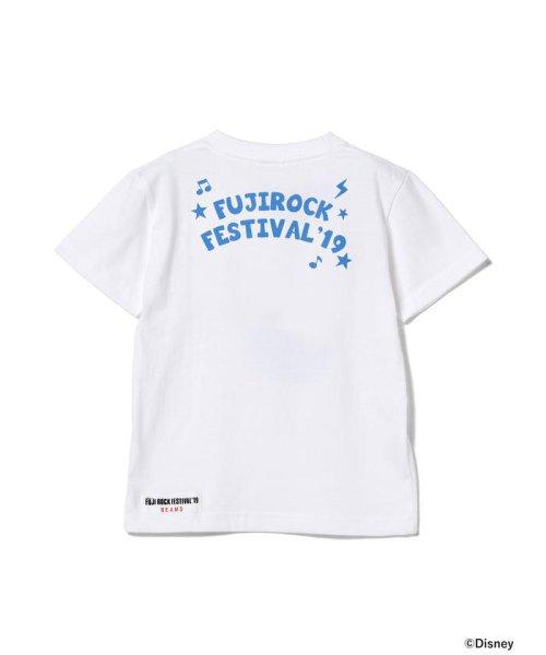 こどもビームス(こどもビームス)/<KIDS>FUJI ROCK FESTIVAL'19 × BEAMS / The Wonderful! design works. バンド Tシャツ/55040901591_img04