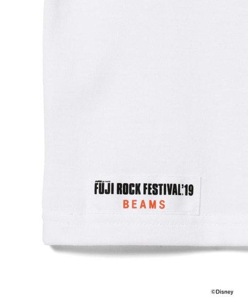 こどもビームス(こどもビームス)/<KIDS>FUJI ROCK FESTIVAL'19 × BEAMS / The Wonderful! design works. バンド Tシャツ/55040901591_img06