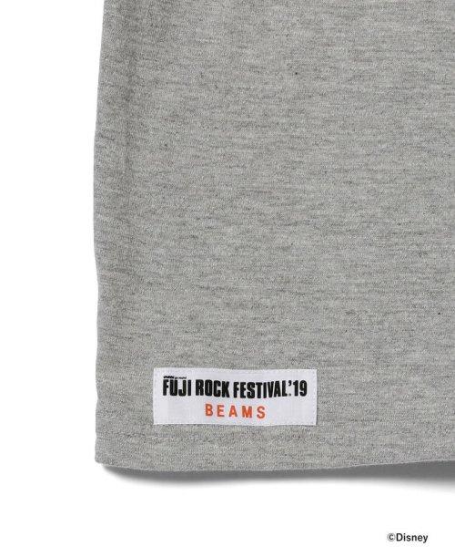 こどもビームス(こどもビームス)/<KIDS>FUJI ROCK FESTIVAL'19 × BEAMS / The Wonderful! design works. バンド Tシャツ/55040901591_img13