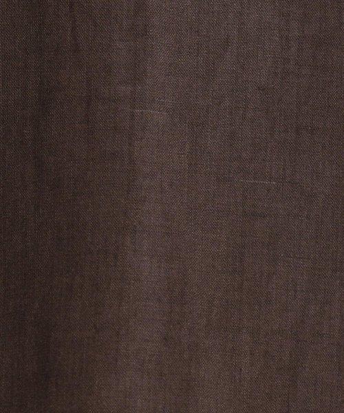 GLOSTER(GLOSTER)/オープンカラーリネンシャツ/9-0093-2-51-355_img11