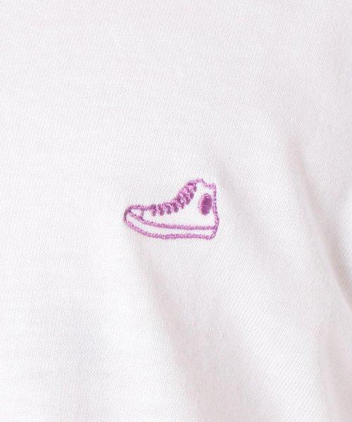 FREDYMAC(フレディマック)/スニーカーワンポイント刺しゅうTシャツ/9-0678-2-50-008_img10