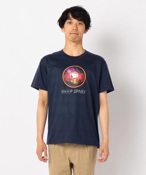 FREDYMAC(フレディマック)/【PEANUTS×FREDY MAC】SNOOPY DEEP SPACE Tシャツ/9-0690-2-50-016_img01