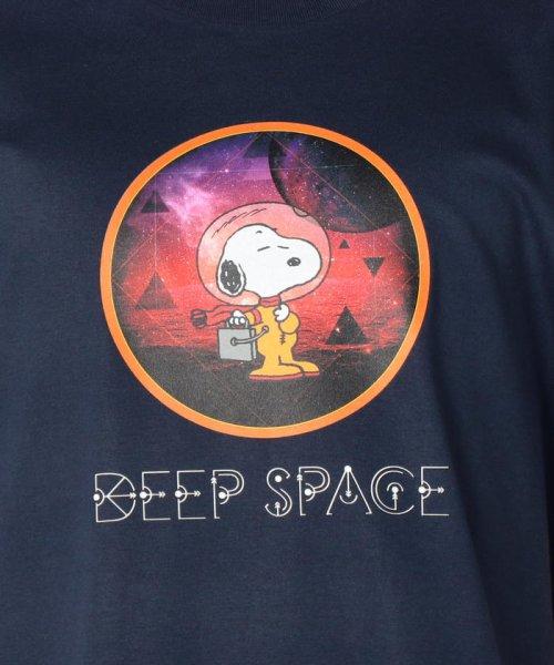 FREDYMAC(フレディマック)/【PEANUTS×FREDY MAC】SNOOPY DEEP SPACE Tシャツ/9-0690-2-50-016_img08