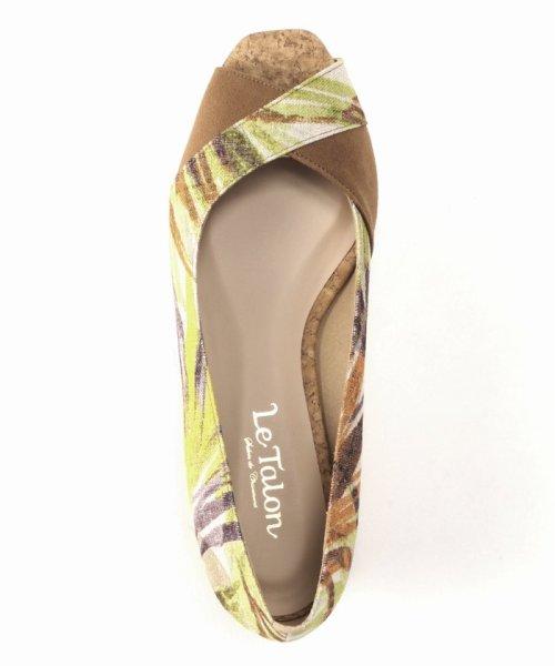 Le Talon(ル タロン)/3.5cmクロスオープントゥウエッジパンプス/19171820117210_img05