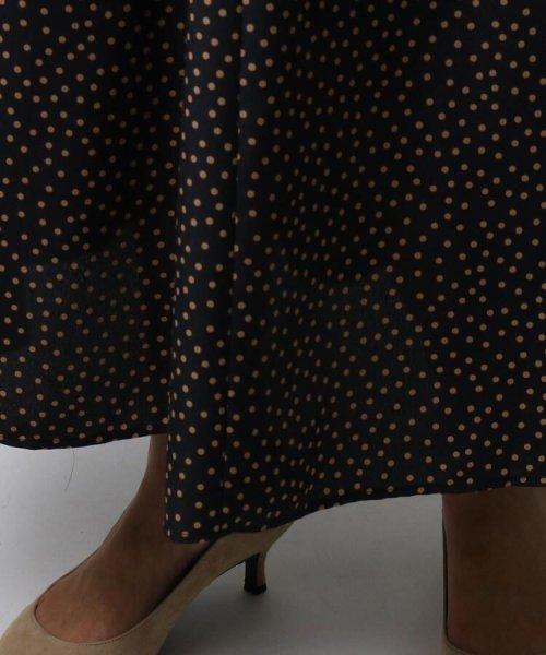 UNTITLED(アンタイトル)/[L]【洗える】ドットマキシフレアスカート/20190115376015_img07