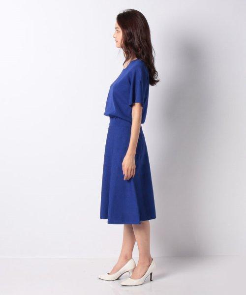 MISS J(ミス ジェイ)/ハノン ウエストゴムニットドレス/635678_img01