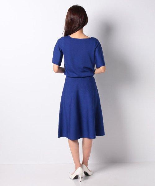 MISS J(ミス ジェイ)/ハノン ウエストゴムニットドレス/635678_img02
